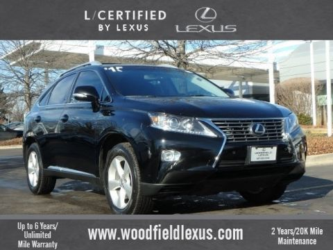 Certified Pre-Owned 2015 Lexus RX 350 w/ Navigation AWD