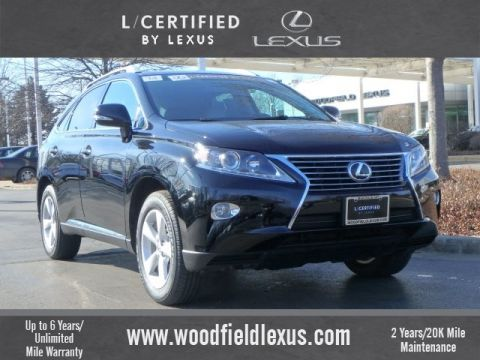 Certified Pre-Owned 2014 Lexus RX 350 4DR AWD AWD
