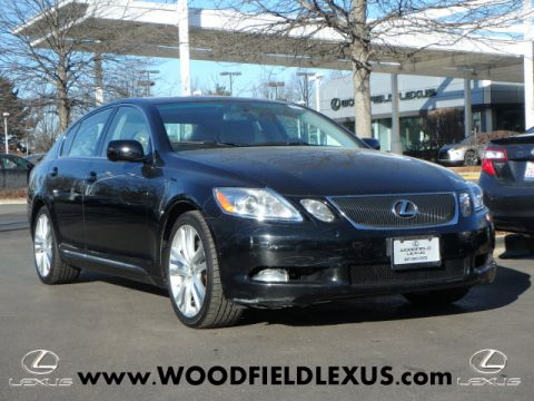 Pre-Owned 2007 Lexus GS 450h Hybrid RWD 4dr Sedan