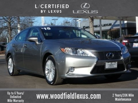 Certified Pre-Owned 2015 Lexus ES 350 Luxury FWD 4dr Sedan