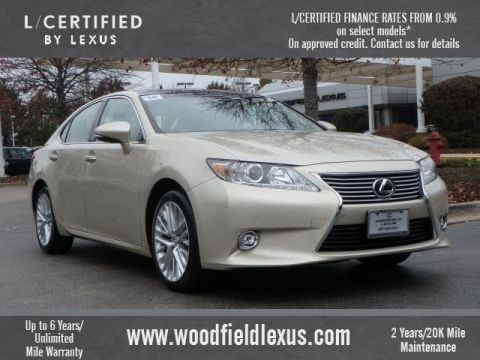 Certified Pre-Owned 2014 Lexus ES 350 Base FWD 4dr Sedan
