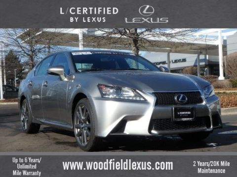 Certified Pre-Owned 2015 Lexus GS 350 Base AWD