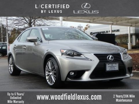 Certified Pre-Owned 2015 Lexus IS 250 Premium AWD