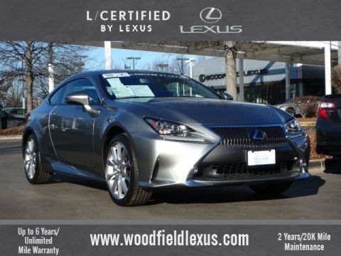 Certified Pre-Owned 2015 Lexus RC 350 - AWD