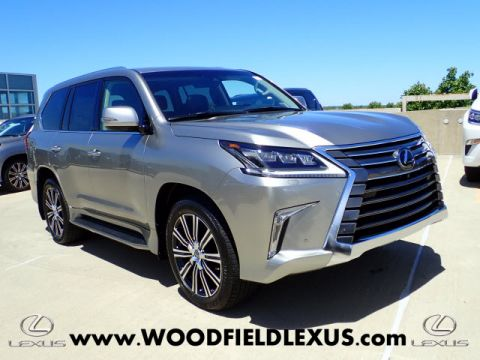 New 2018 Lexus LX 570 Three-Row AWD