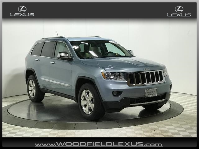 Pre-Owned 2013 Jeep Grand Cherokee Limited 4WD 4x4