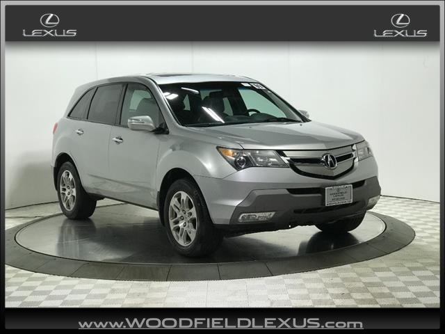 Pre-Owned 2009 Acura MDX SH-AWD 4dr SUV w/Technology and Entertainment Package