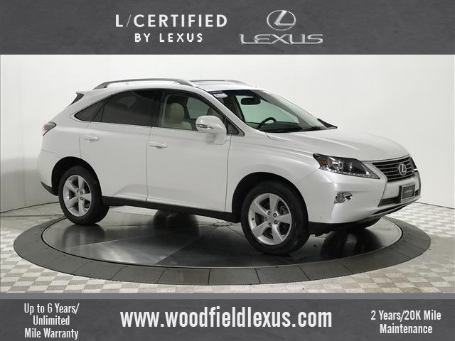 Certified Pre-Owned 2013 Lexus RX 350 4DR AWD SUV AWD in Schaumburg ...