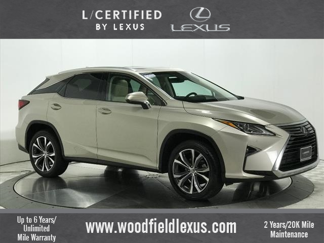Pre Owned 2017 Lexus Rx 350 Base