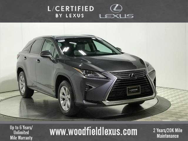Certified Pre Owned 2017 Lexus Rx 350 Premium Package Awd 4dr Suv