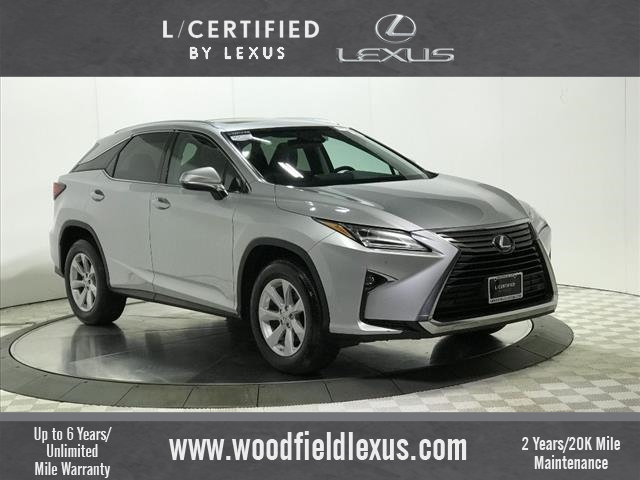 Certified Pre Owned 2017 Lexus Rx 350 Awd 4dr Suv