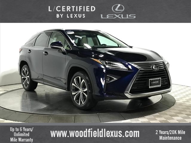Lexus Rx 350 >> Certified Pre Owned 2017 Lexus Rx 350 Premium Awd Awd 4dr Suv