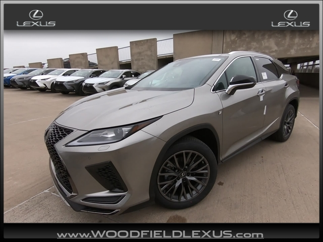 New 2020 Lexus RX 350 Performance