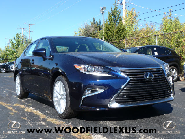 new 2018 lexus es 350 4dr sedan in schaumburg 180012. Black Bedroom Furniture Sets. Home Design Ideas