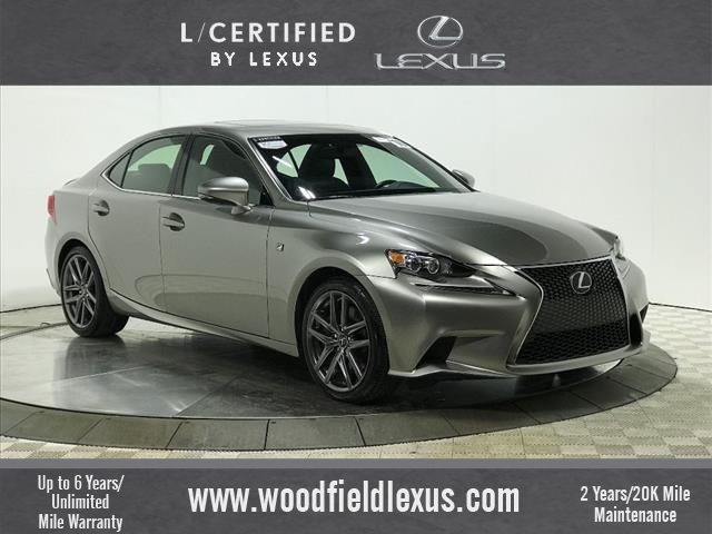Certified Pre Owned 2016 Lexus Is 350
