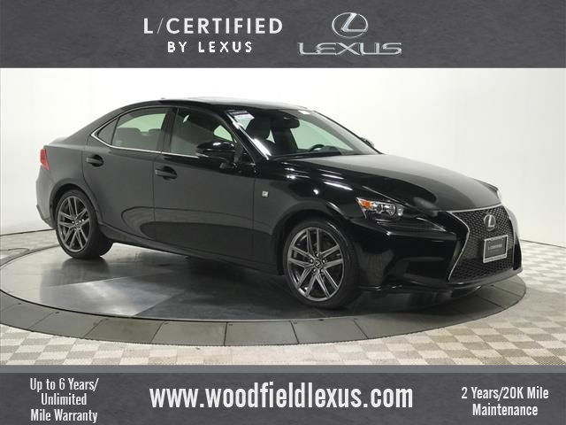 Certified Pre-Owned 2015 Lexus IS 250 F SPORT