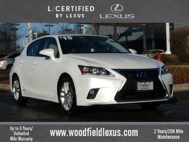Certified Pre-Owned 2015 Lexus CT 200h Base