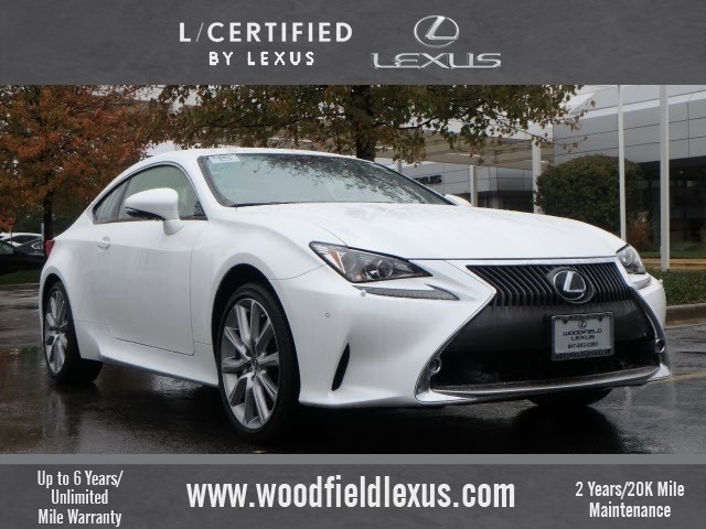 Certified Pre-Owned 2015 Lexus RC 350 -