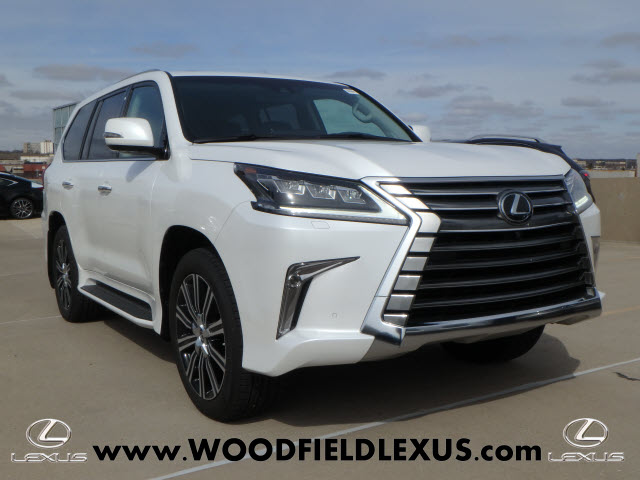 New 2018 Lexus LX 570 Three-Row