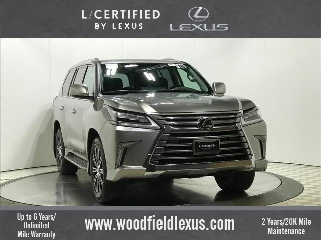 Certified Pre-Owned 2018 Lexus LX 570 Three-Row