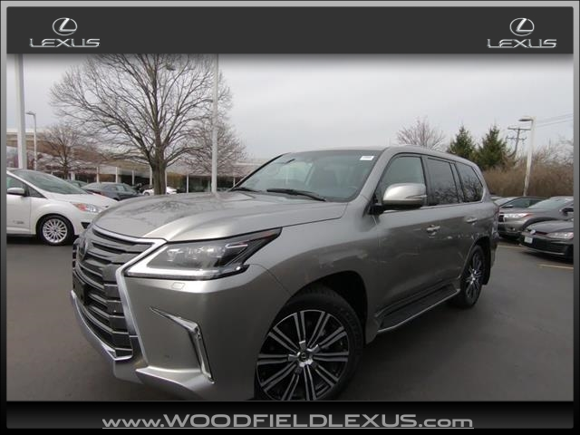 Retired Courtesy Vehicle 2019 Lexus LX 570 Three-Row AWD 4dr SUV