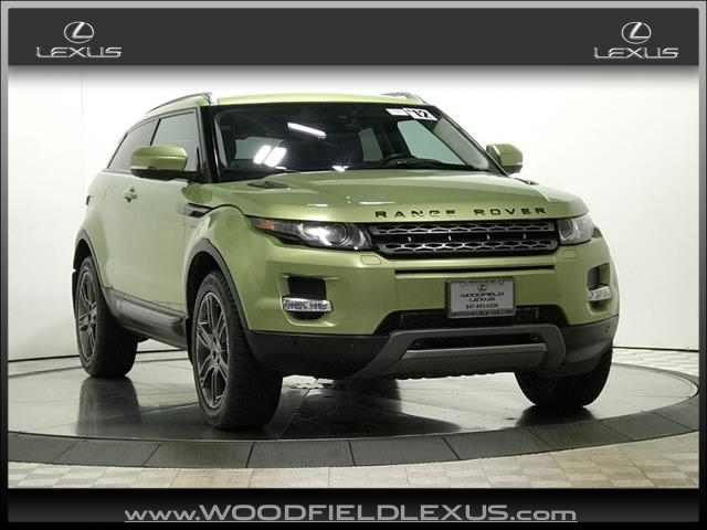 Pre-Owned 2012 Land Rover Range Rover Evoque Coupe Pure