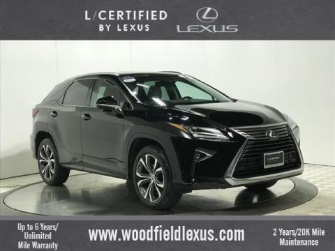 Certified Pre-Owned 2017 Lexus RX 350 PREMIUM AWD 4dr SUV in