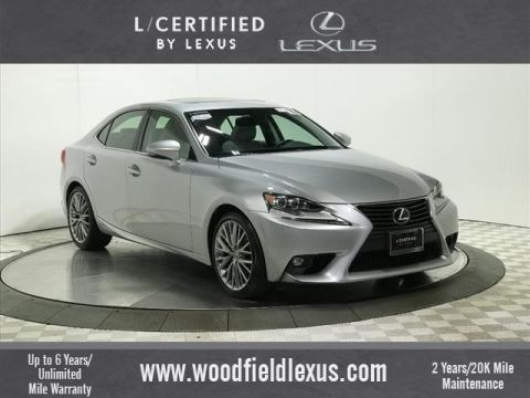 Certified Pre-Owned 2015 Lexus IS 250 PREMIUM PACKAGE
