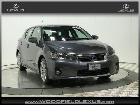 Pre-Owned 2012 Lexus CT 200h 4DR FWD HYBRID