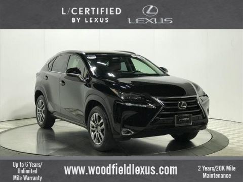 Certified Pre-Owned 2016 Lexus NX 200t BASE